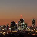 Brisbane City Skyline by Az Jackson