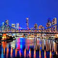 Brisbane In Late Evening by Chris Smith