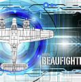 Bristol Beaufighter Blueprint by J Biggadike