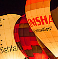 Bristol Balloon Fiesta - Night Glow by Colin Rayner