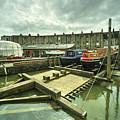 Bristol Barge Dry Dock  by Rob Hawkins