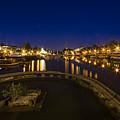 Bristol Docks By Night  by Rob Hawkins