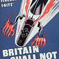 Britain Shall Not Burn by English School
