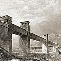 Britannia Bridge Across Menai Strait by Wellcome Images