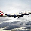 British Airways 747 G-civi by J Biggadike