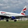 British Airways A318-112 G-eunb by Tim Beach