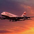 British Airways A380 G-xlef by J Biggadike