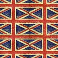 British Flag Collage One by Michelle Calkins