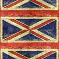 British Flag Collage Two by Michelle Calkins
