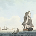 British Single Decker Off The Coast by MotionAge Designs