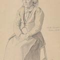 Britta Peersdotter Reisaer, Ullensvang by Adolph Tidemand