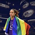 Brittney Griner Lgbt Pride 4 by Devin Millington