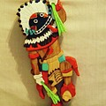 Broad Faced Kachina by Russell Ellingsworth