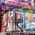 Broadway Double Exposure by John Rizzuto