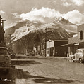 Broadway In Skagway Alaska Street Scene Circa 1957 by California Views Archives Mr Pat Hathaway Archives