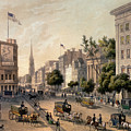 Broadway In The Nineteenth Century by Augustus Kollner