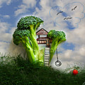 Broccoli Treehouse by Diana Haronis