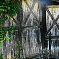 Broken Barn Door by Joyce Kimble Smith