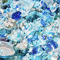 Broken Glass Blue by Melissa Lane