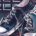 Broken-in Converse by Shawna Rowe