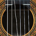 Broken String On A Classical Guitar by William Kuta