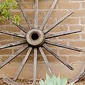 Broken Wagon Wheel. El Charco Del Ingenio by Rob Huntley