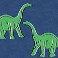 Brontosaurus by Linda Woods