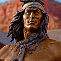Bronze Native by Christopher Holmes