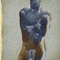 Bronze Statue by Joaquin Abella