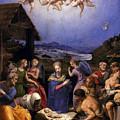 Bronzino Agnolo Painting by Munir Alawi
