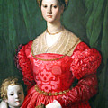 Bronzino's A Young Woman And Her Little Boy by Cora Wandel