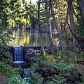 Brook Falls by Marj Dubeau
