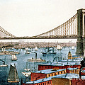 Brooklyn Bridge, 1872 by Science Source