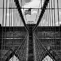 Brooklyn Bridge Bw by Joseph Yarbrough