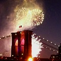 Brooklyn Bridge Celebration by Kendall Eutemey