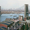 Brooklyn Bridge Circa 1904 by Rod Jellison