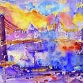 Brooklyn Bridge by D Fessenden