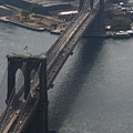 Brooklyn Bridge From The Beekman by Christopher Kirby
