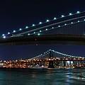 Brooklyn Bridge Full Moon by Movie Poster Prints