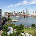Brooklyn Bridge In New York by Didier Marti