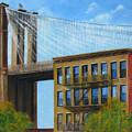 Brooklyn  Bridge by Leonardo Ruggieri