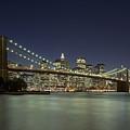 Brooklyn Bridge, New York City, Ny by David Davis