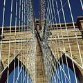 Brooklyn Bridge New York City by Peter Potter