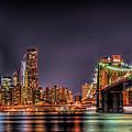 Brooklyn Bridge Park Nights by Theodore Jones