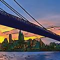 Brooklyn Bridge Collection - 2 by Sergey Lukashin