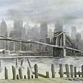 Brooklyn Bridge by Stephen Serina