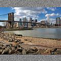 Brooklyn Bridge...triptych by Arkadiy Bogatyryov
