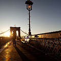 Brooklyn Brige Sunset by Avril Christophe