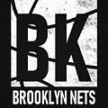 Brooklyn Nets City Poster Art by Joe Hamilton