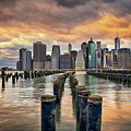 Brooklyn Pilings   by Michael Ver Sprill